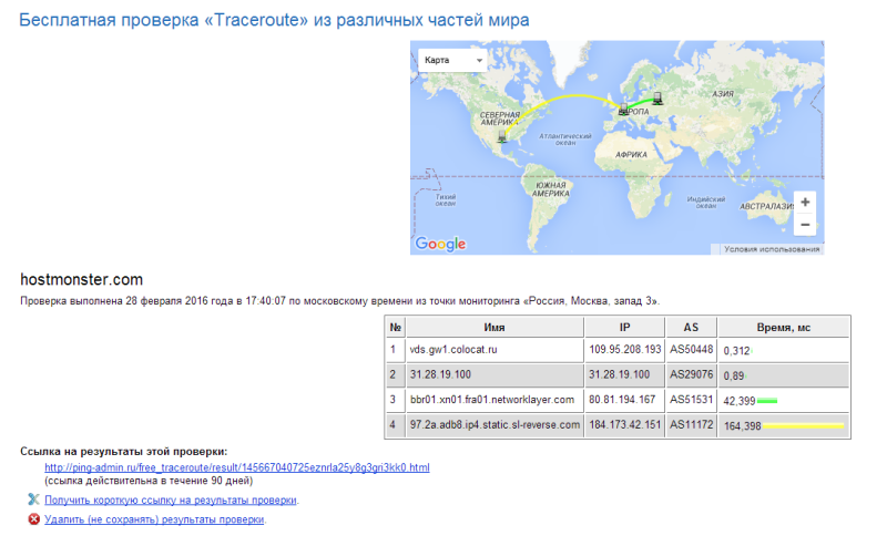 From Moscow to Hastamerica