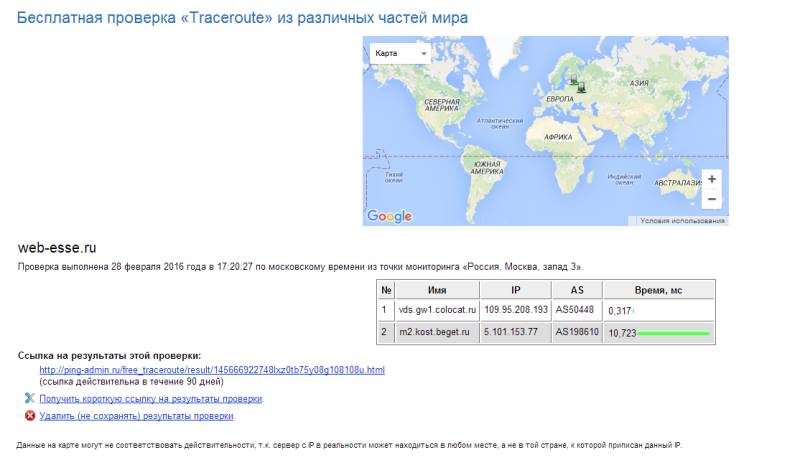 From Moscow to web-esse
